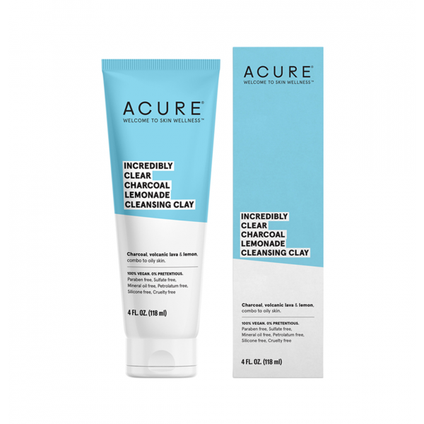 ACURE Incredibly Clear Cleansing Clay 118ml