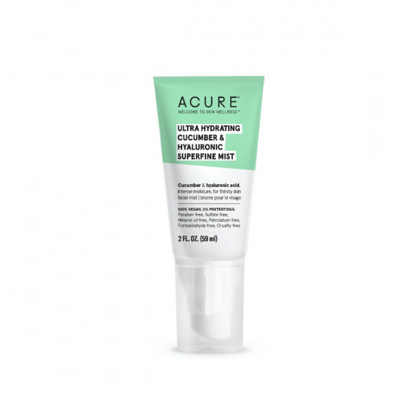 ACURE Ultra Hydrating Cucumber & Hyaluronic Superfine Mist 59ml