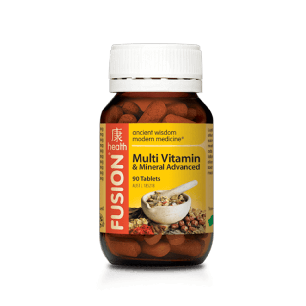 Fusion Multi-Vitamin & Mineral Advanced 90 Tablets