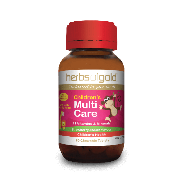 Herbs of Gold Childrens Multi Care 60T