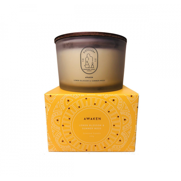 Distillery Fragrance House Soy Candle Awaken