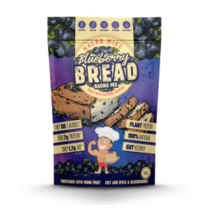 MACRO MIKE Almond Protein Bread Baking Mix Blueberry Bread 300g