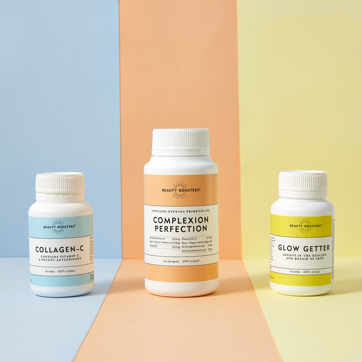 Introducing Beauty Boosters... get your summer glow today!